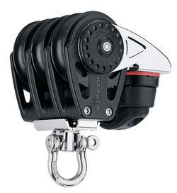 Harken Carbo Airblok Tripel svirvel 423 Carbo-Cam®