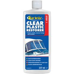 Star Brite Clear Plastic Restorer Step 1