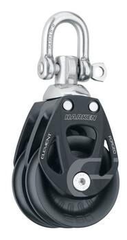 "Harken ""Element""  Dobbelt med svirvel 14 mm line"