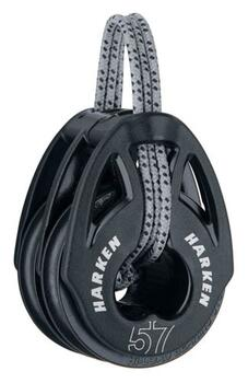 Harken T2™  Soft Attach Dobbelt til 10 mm line