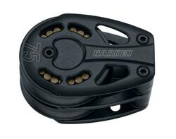 Harken Black Magic Dobbelt Fodblokke til 14 mm line