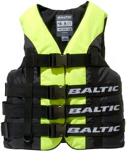 Baltic Vandski vest i Gul/Sort