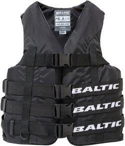 Baltic Vandski vest i Sort