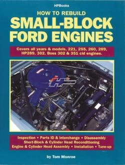 Reparationsbog på Engelsk til Chevrolet Small-block Ford engines