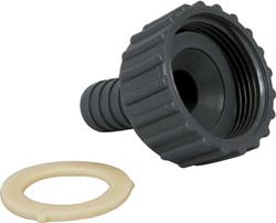 "Slangeadaptor – gev. 1 1/4"" x 20 mm"