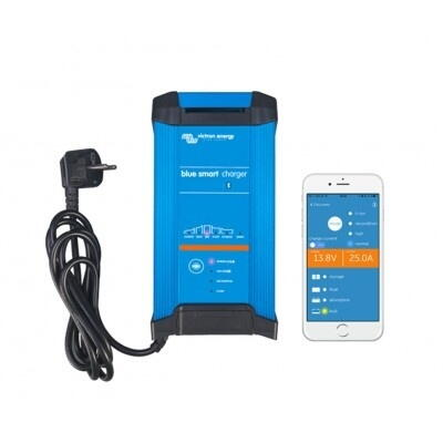 Victron blue smart lader 12 volt 20 amp. til 3 batterier og Bluetooth IP22
