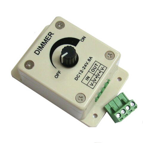 Nauticled pwm led dimmer, 10- 30v input, max 8 a output