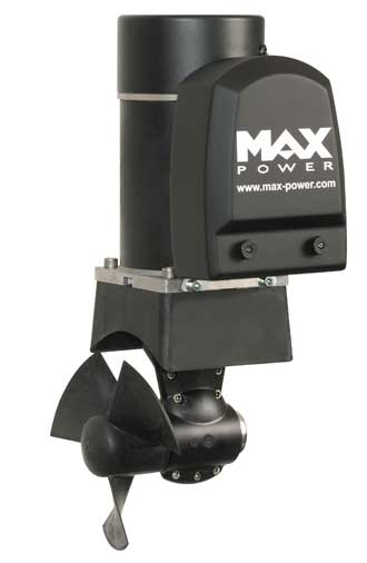 Bovpropel Max Power 60 for både fra 25 til 39 fod